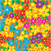 Fleurs d'été — Vecteur