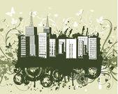 Grunge urbain — Vecteur