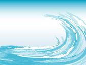 Fondo de onda — Vector de stock