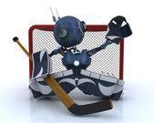Android gry Hokej na lodzie — Zdjęcie stockowe