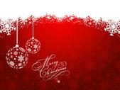 Vánoční ozdoby — Stock vektor