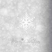 Christmas snowflake background — Stock Vector