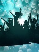 Grunge partij achtergrond — Stockvector