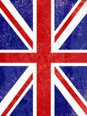 Grunge Union Jack background — Stock Vector