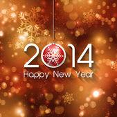 Felice anno nuovo sfondo — Vettoriale Stock