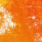 Orange grunge background — Stockvector