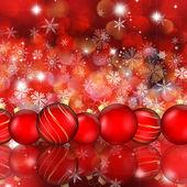 Christmas bauble hintergrund — Stockfoto