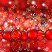 Fundo de christmas bauble — Foto Stock