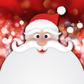 Christmas Santa background — Stock Photo