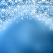 Christmas snowflake background — Stock Photo