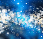 Christmas stars background — Stock Photo
