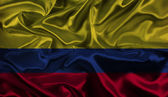 Colombian flag background — Stock Photo