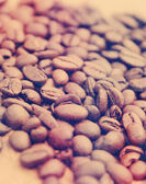 Coffee beans with vintage effect — Stock Photo