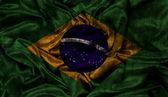 Grunge Brazil flag background — Stock Photo