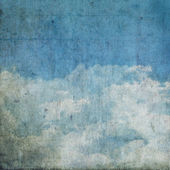 Grunge clouds background — Stock Photo