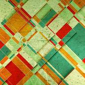 Grunge geometrisk bakgrund — Stockfoto