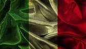 Grunge Italian flag background — Stock Photo