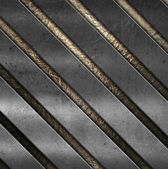 Scratched metal background — Stock Photo
