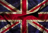Grunge Union Jack flag — Stock Photo