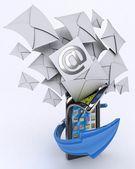 Mobile communicatioins — Stock Photo