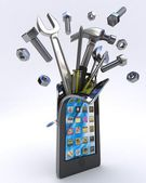 Mobile Tools — Stock Photo