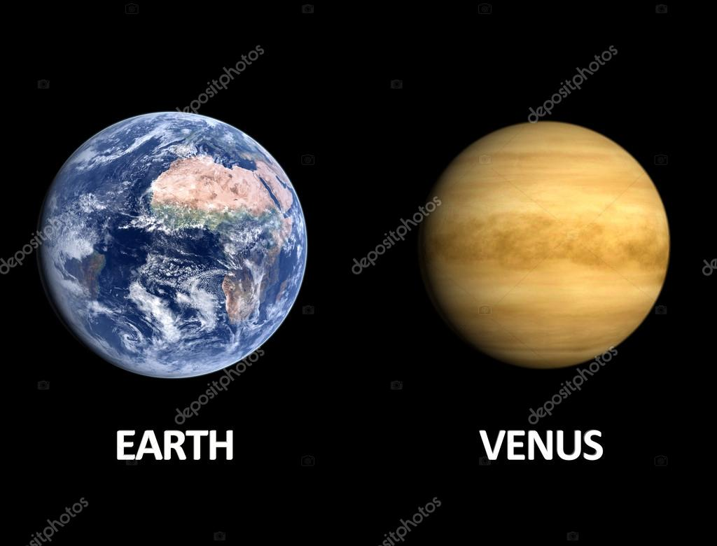 venus and planet earth - photo #3
