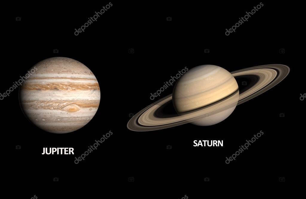Image Gallery Jupiter And Saturn