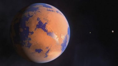 Terraforming Mars — Stock Video