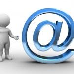 bobbys email - bobby serie — Stockfoto #5369947