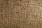 High detailed texture of a burlap material — Stock Photo