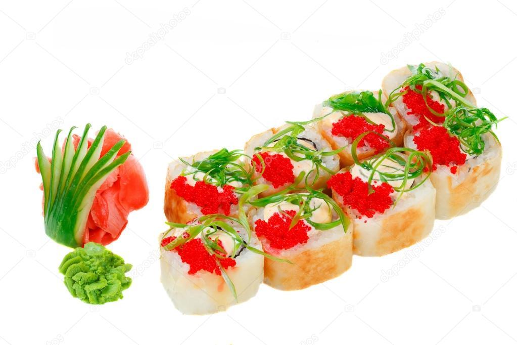 Sushi zalm rauw of gerookt