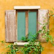 Vintage wood window — Stock Photo
