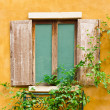 Stock Photo: Vintage wood window