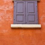 Vintage wood window — Stock Photo
