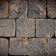 Texture of old stone wall for background — Foto Stock