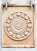 Budist taş oyma — Stok fotoğraf