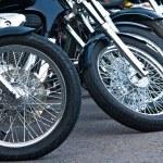 Motorcycle wheels — Stock Photo #36866181