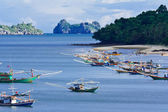 Thai fishing boat — Stock Photo