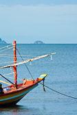 Thajské rybářské lodi — Stock fotografie