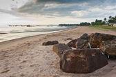Beach in the moring — Stock Photo
