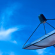 Satellite dish in blue sky — Stock Photo #4539520