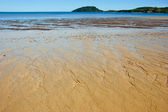 Ficcanaso essere spiaggia — Foto Stock