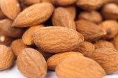 Dried almonds — Stock Photo