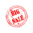 Big sale stamp — Stock Photo