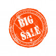 Grunge rubber stamp big sale — Stock Photo