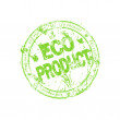Label for eco products — Stock Photo