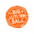 Big autumn sale grunge stamp — Stock Photo #12018891