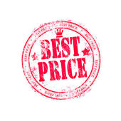 Grunge rubber stamp best price — Stock Photo