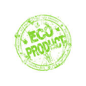 Label voor eco producten — Stockfoto