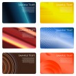 Business cards set — Stock Vector #12811814